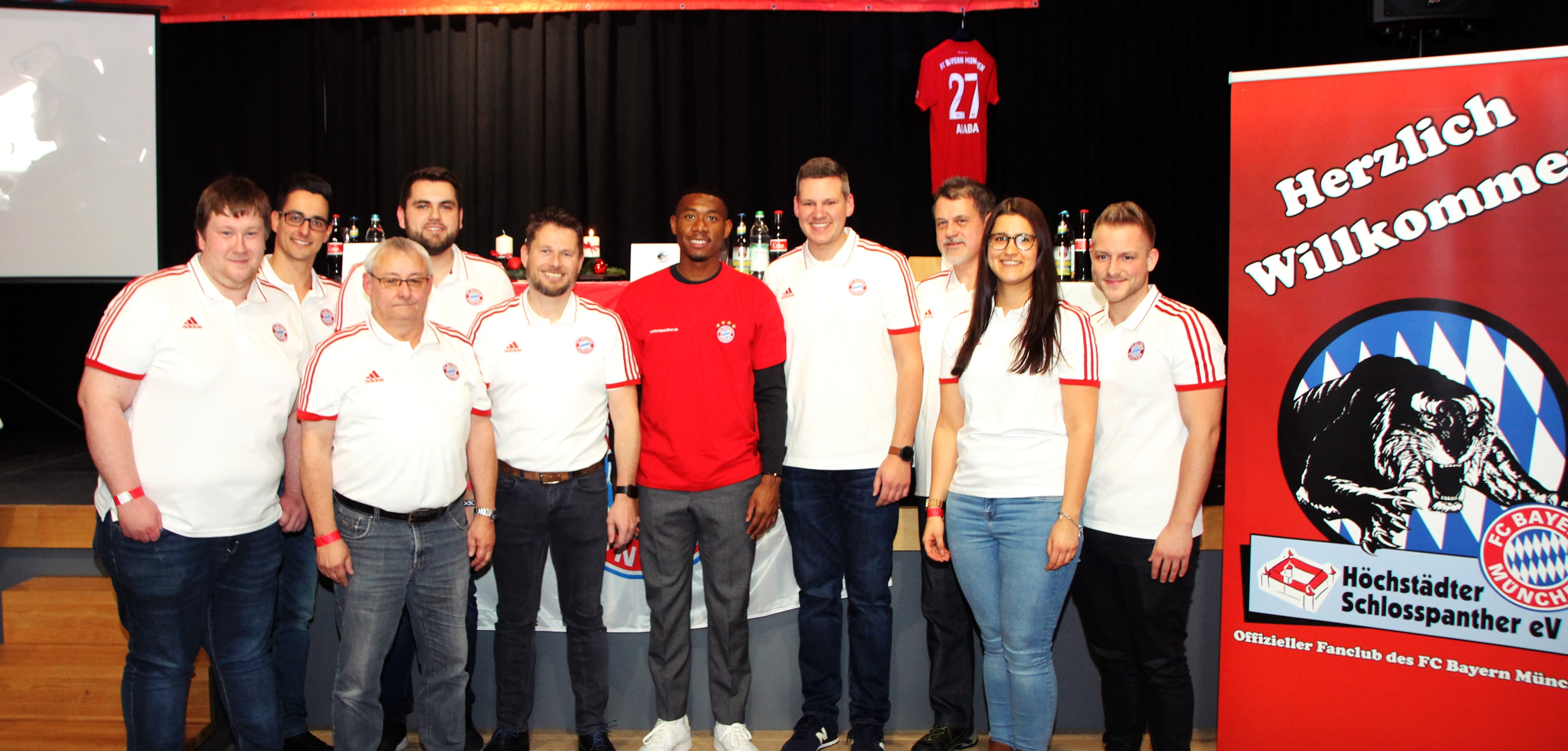 Adventsfeier mit David Alaba